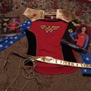DC comics Wonder Woman set. Worn twice. EUC size L